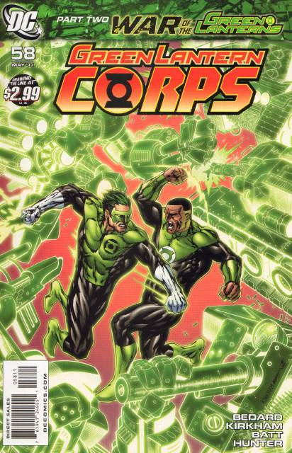 Green Lantern Corps no. 58 - Used
