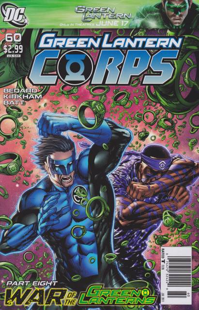 Green Lantern Corps no. 60 - Used
