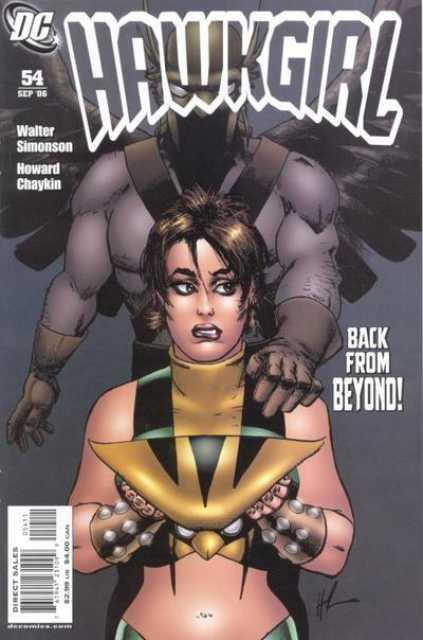 Hawkgirl (2002) no. 54 - Used