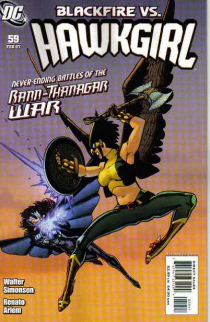 Hawkgirl (2002) no. 59 - Used