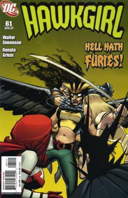 Hawkgirl (2002) no. 61 - Used