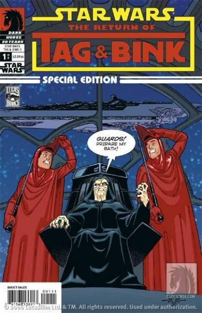 Star Wars: Tag and Bink (2006) Complete Bundle - Used