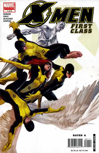 X-Men First Class (2006) Complete Bundle - Used