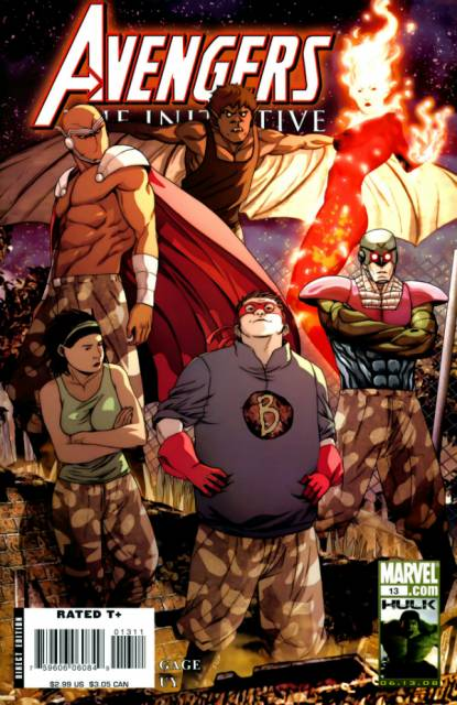 Avengers Initiative (2007) no. 13 - Used