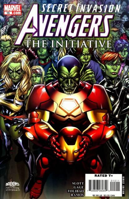 Avengers Initiative (2007) no. 15 - Used