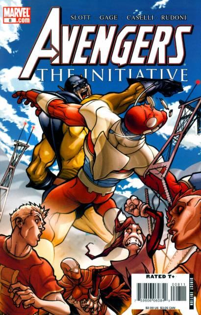 Avengers Initiative (2007) no. 8 - Used