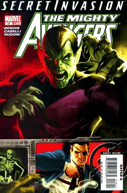 Mighty Avengers (2007) no. 18 - Used