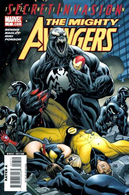Mighty Avengers (2007) no. 7 - Used