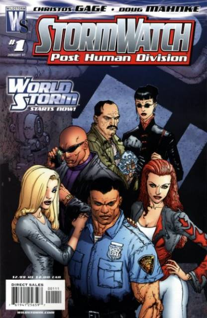 Stormwatch: Post Human Division (2006) no. 1 - Used