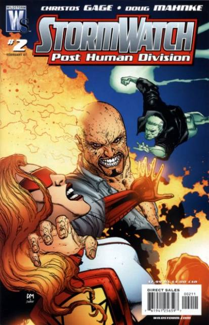 Stormwatch: Post Human Division (2006) no. 2 - Used