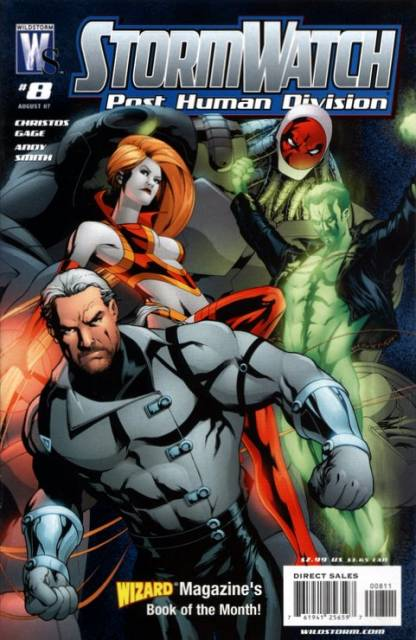 Stormwatch: Post Human Division (2006) no. 8 - Used