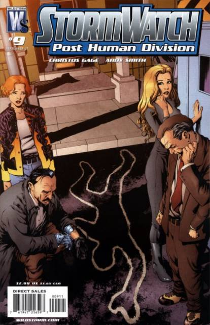 Stormwatch: Post Human Division (2006) no. 9 - Used