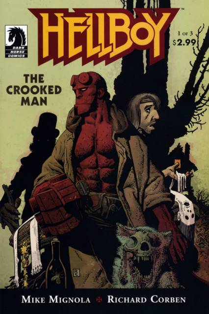 Hellboy the Crooked Man (2008) Complete Bundle - Used