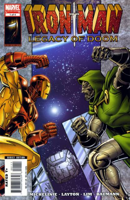 Iron Man: Legacy of Doom (2008) Complete Bundle - Used