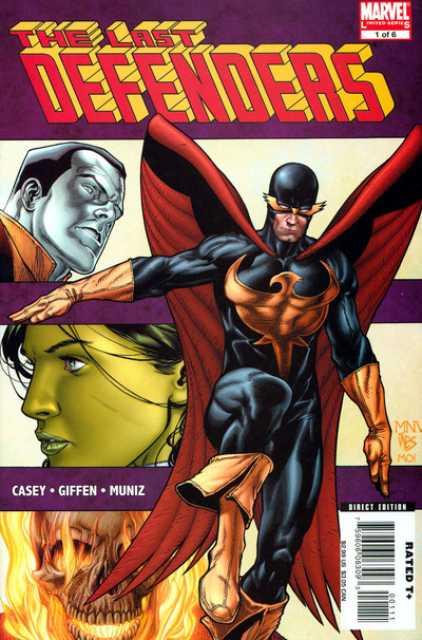 The Last Defenders (2008) Complete Bundle - Used