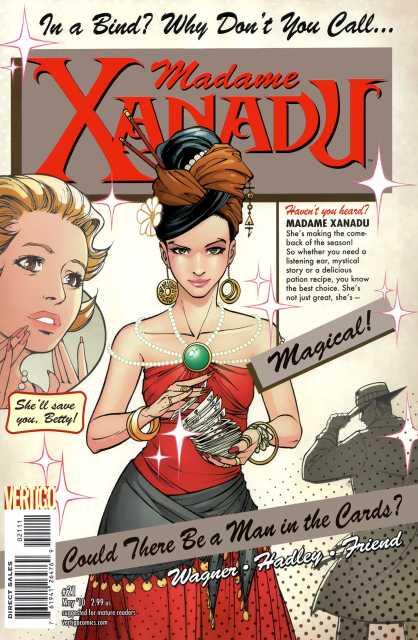 Madame Xanadu (2008) no. 21 - Used