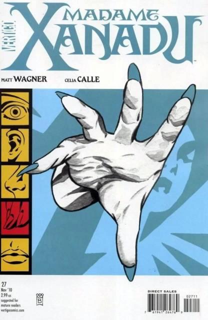 Madame Xanadu (2008) no. 27 - Used