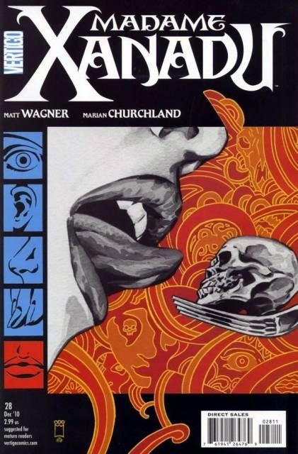 Madame Xanadu (2008) no. 28 - Used