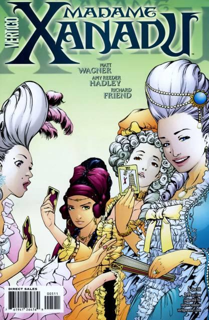 Madame Xanadu (2008) no. 5 - Used
