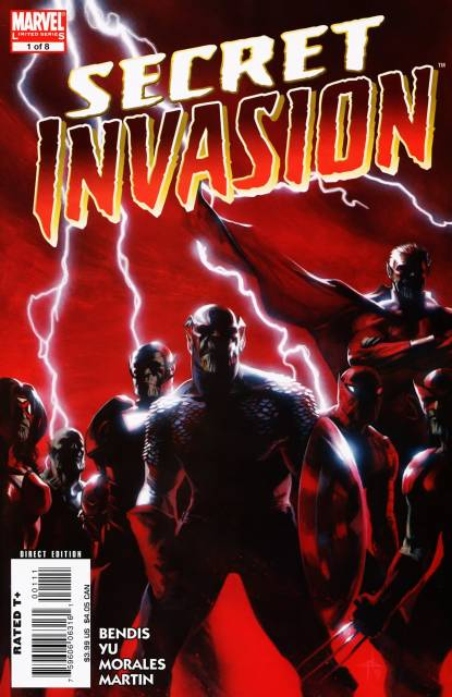 Secret Invasion (2008) Complete Bundle - Used
