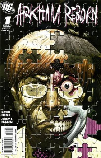 Arkham Reborn (2009) Complete Bundle - Used