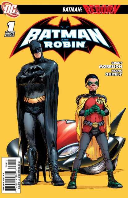 Batman and Robin (2009) no. 1 - Used