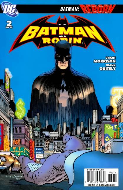 Batman and Robin (2009) no. 2 - Used