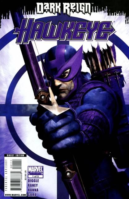 Dark Reign Hawkeye (2009) Complete Bundle - Used