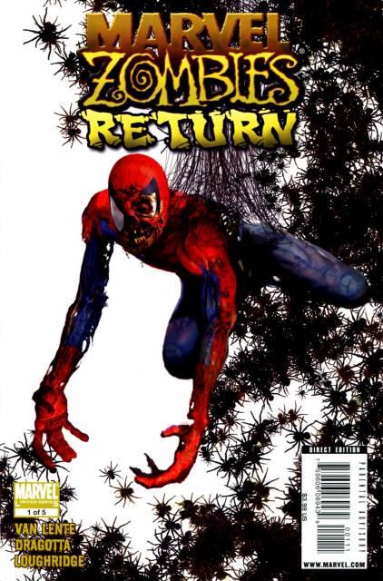 Marvel Zombies Return (2009) Complete Bundle - Used