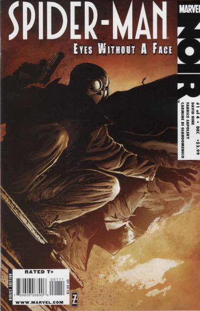 Spider-Man Noir: Man Without a Face (2009) Complete Bundle - Used