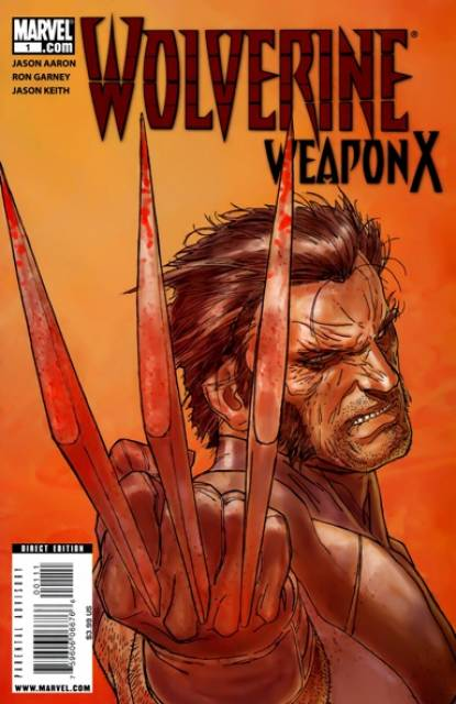 Wolverine Weapon X (2009) no. 1 - Used