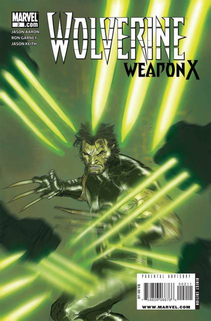 Wolverine Weapon X (2009) no. 2 - Used