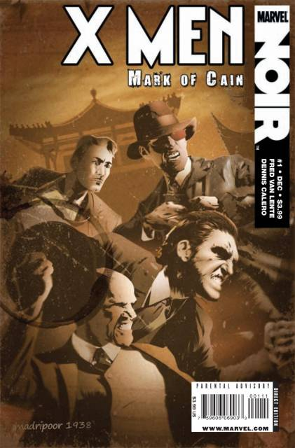 X-Men Noir: Mark of Cain (2009) Complete Bundle - Used