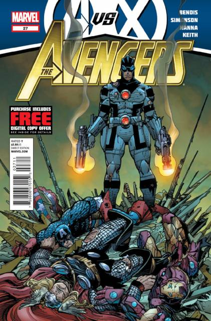 Avengers (2010) no. 27 - Used