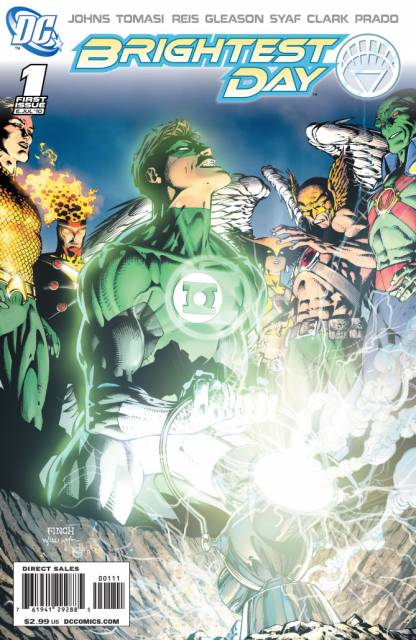 Brightest Day (2010) no. 1 - Used