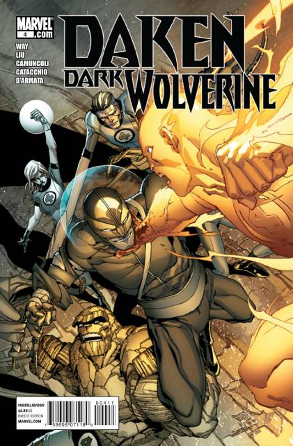 Daken Dark Wolverine (2010) no. 4 - Used