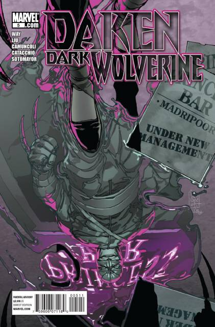 Daken Dark Wolverine (2010) no. 5 - Used