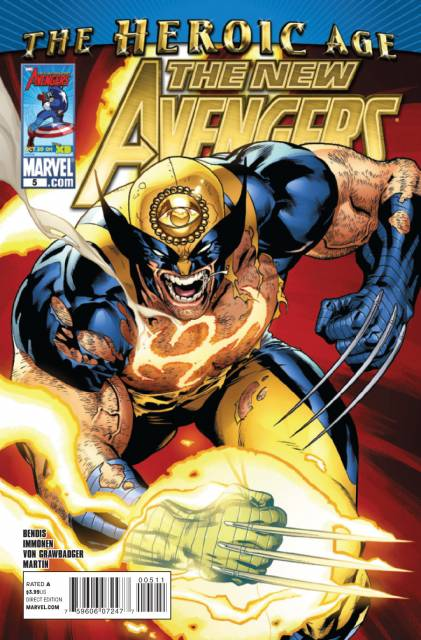 New Avengers (2010) no. 5 - Used