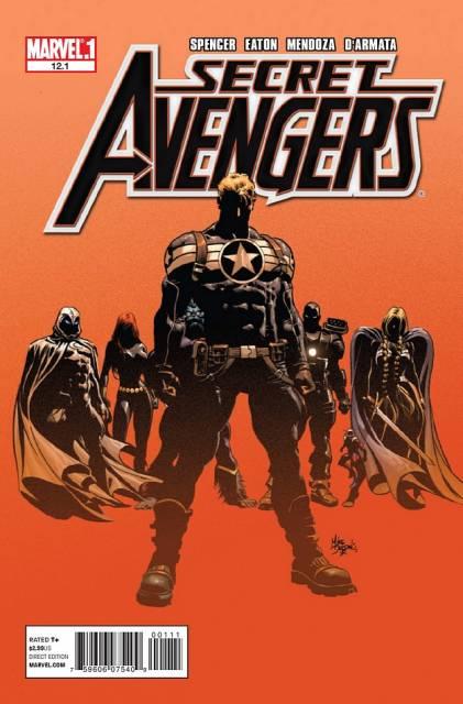 Secret Avengers (2010) no. 12.1 - Used