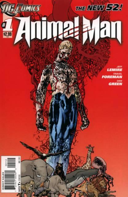 Animal Man (2011) no. 1 - Used