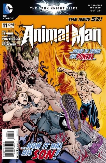 Animal Man (2011) no. 11 - Used