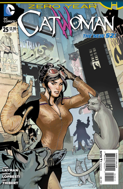 Catwoman (2011) no. 25 - Used