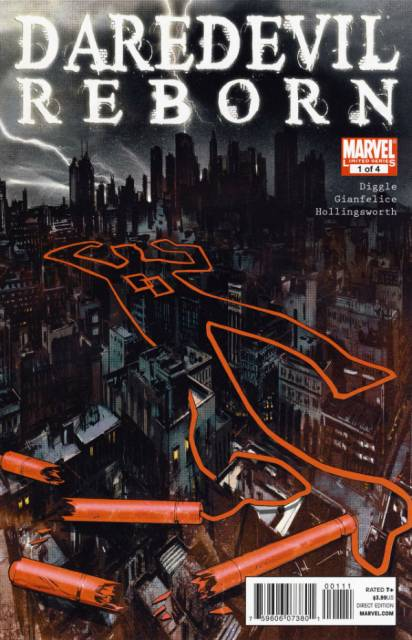 Daredevil Reborn (2011) Complete Bundle - Used