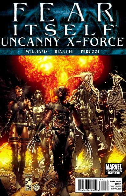 Fear Itself: Uncanny X-Force (2011) Complete Bundle - Used