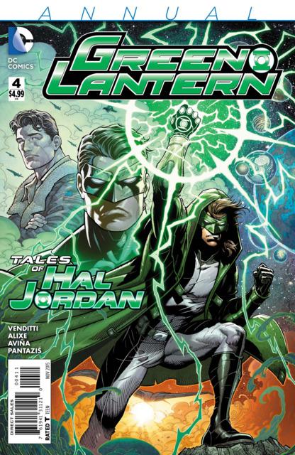 Green Lantern (2011) Annual no. 4 - Used