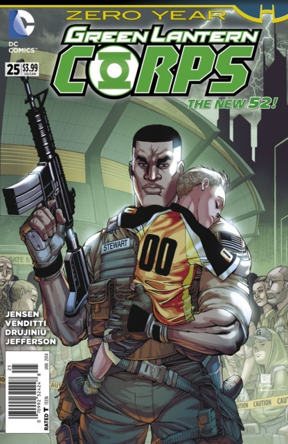 Green Lantern Corps (2011) no. 25 - Used