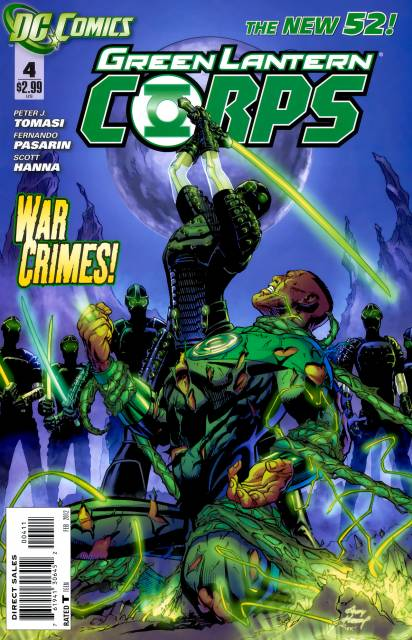 Green Lantern Corps (2011) no. 4 - Used