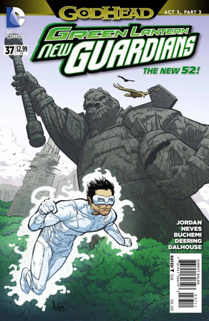 Green Lanterns New Guardians (2011) no. 37 - Used