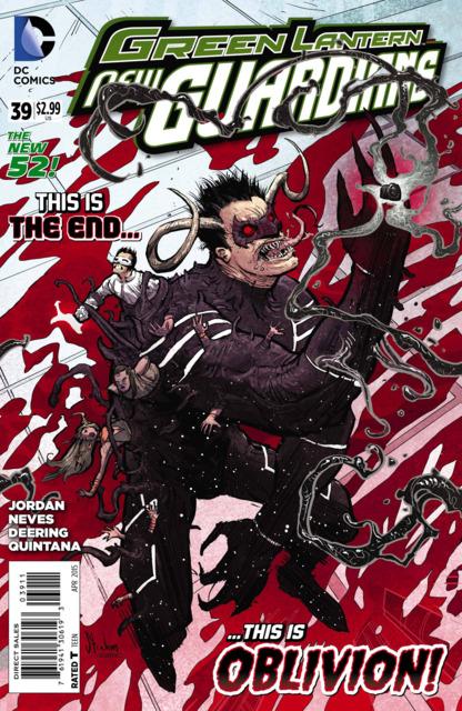 Green Lanterns New Guardians (2011) no. 39 - Used