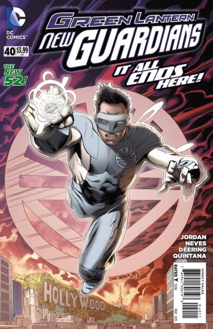 Green Lanterns New Guardians (2011) no. 40 - Used
